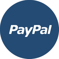 Paypal secure payment services.