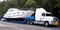 Yacht Transport truck
