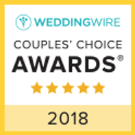 A weddingwire.com Couple's Choice Award winner
