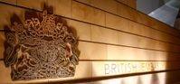 British Embassy sign (unkown location)