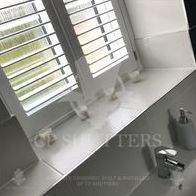 Bathroom Shutters by CP Shutters, Installed in Essex