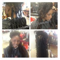 Braids by Bee has her own technique of reattaching natural dreadlocks with combining her InstantLoc dread extensions technique to make undetectable and natural as possible.