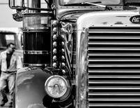 Trucking old school!