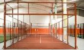 padel tennis court manufacture uk