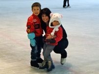 learn to ice skate from an Olympian