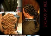 Dreadsbybee is well known for over 20 years for starting techniques of natural dreadlocks for all textures hair including complicated hair.