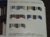 Outdoor awning colours
