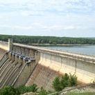 JFK Dam at Greers Ferry Lake.