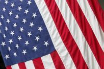 American Flag image- Support our troops at Beaudry