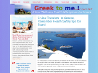 Cruise Travelers Health Safety in Greece . What to know in case of Emergency