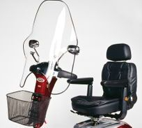 shoprider accesories windscreen