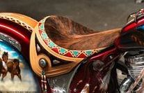 Custom Exotic & Leather Motorcycle Seats