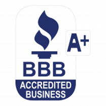 A+ BBB  Accredited members!