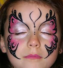 Professional face painting and body art. Face painting throughout Cornwall, Truro, Newquay, Penzance, Hire, party, Entetainment, entertainer, Helston, South West. Face painting, body painting.