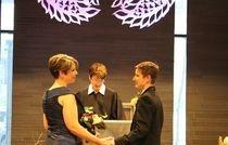 Lesbians wedding day in  FL - GA - CA - NY