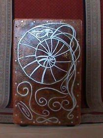 Cajon with Custom Artwork by Tufani Mayfield