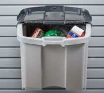 LARGE BIN STORAGE WALL