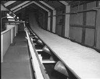 Conveyor belt for food industries
