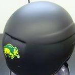 ndsu motorcycle helmet