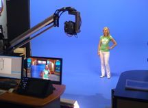 European TV studio live show