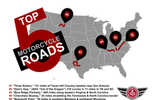 Top 5 Motorcycle Roads to Ride, Ride2Guide.com, Motorcycle Roads, Motorcycle Routes, Motorcycle Touring