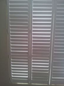 White Shutters also availabel in stain timber colors