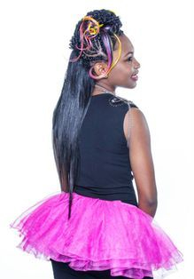 Braids by Bee daughters often features in hair shows all around the world.