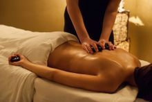 hot stone massage after an acupuncture treatment in halifax