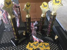 Trophies and Medals for the Muskogee Run