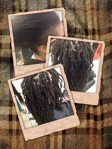Bee starts deadlock journey with Dread Extensions technique however her techniques are one of a kind.  Not only are they permanent but Bee cares for them as they grow out as normal dreads.