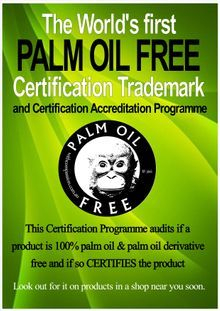 palm oil free certification process
