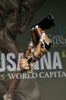 Marnie Holley at 2006 IFBB Women's Fitness World Championships, Spain