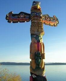 local Totem pole