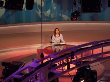 Al jazeera news room