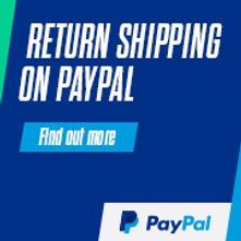 Paypal return shipping paid