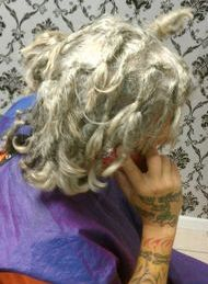 Braids By Bee repaired natural dreadlocks on Caucasian client hair.