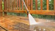 Pressure Cleaning Wood Decks