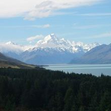 Mt Cook on a 2 week South Island Tour