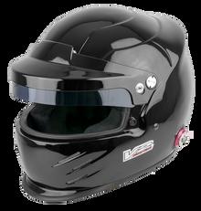 Vulcan Racing V2Sport Peaked Touring Car race rally hans post helmet black