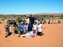 Specialist Group Camel Safaris with Outback Australian Camels, Flinders Ranges, South Australia