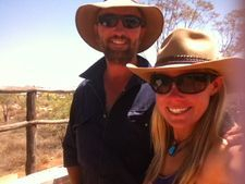 Camel Trekking Hosts Camel Safaris Russell and Tara Outback Australian Camels