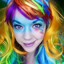 Rainbow Dash My Little Pony Parties character entertainer