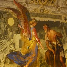 "<img src=""australian womens travel.jpg alt=womens tours,painting of angel on ceiling in the vatican museum "">"