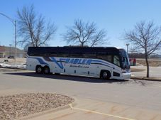 Group Bus tour at the National Farm Toy Museum, Dyersville, IA