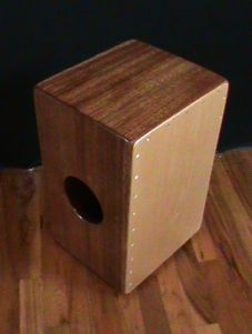 Mahogany Traditional String Cajon