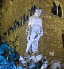 "womens tours.jpg alt=womens travel, illuminated staue of neptune, florence"">"