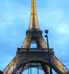"src=""australian womens travel.jpg alt=womens travel,silhoette of the eiffel tower , paris france """