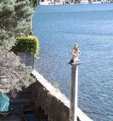 "ravel, mothe mary on a plinth,villa monastero, varenna, lake como, italy"">"