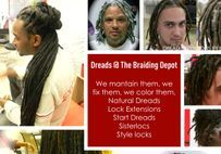 Braids Bee Bee is known in the industry to have the perfect solutions to repairing natural dreadlocks, starting dreadlocks, and creating dreads from scratch.