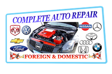 Foreign and Domestic Auto Repair